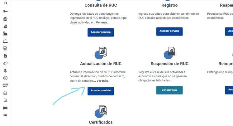 Cómo puedes actualizar el RUC en la Página SRI Linea fácilmente en Ecuador