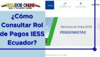 ¿Cómo Consultar Rol de Pagos IESS Ecuador?