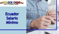 El salario a cobrar en Ecuador al trabajar