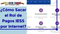 ¿Cómo Sacar el Rol de Pagos IESS por Internet?